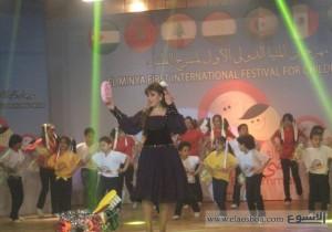 صفاء ألبو السعود لم تستطع وحدها انقاذ مهرجان فاشل