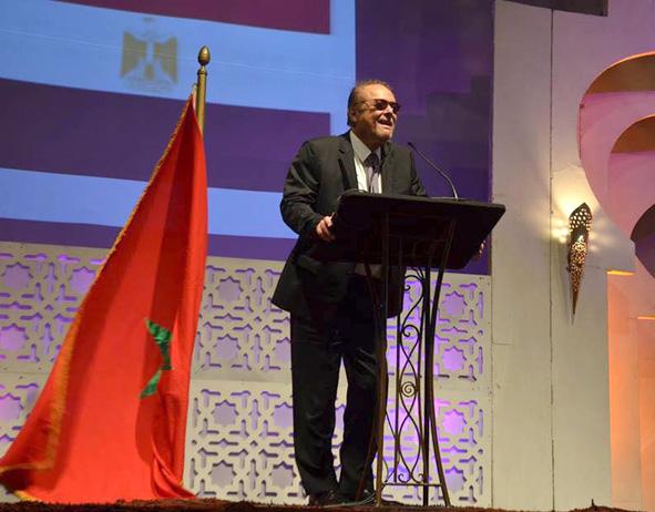 النجم محمود عبد العزيز وتكريم جماهيرى وسينمائى وإعلامى ضخم بمهرجان الداخلة بالمغرب