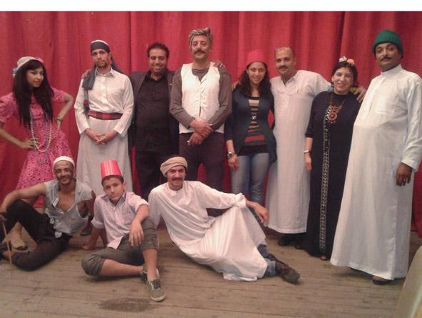"""مبدعو الإسكندرية يقدمون مسرحية """"الأرض""""بصياغة جديدة"""