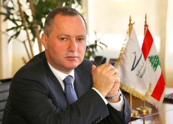 ريمون عريجى وزير ثقافة لبنان