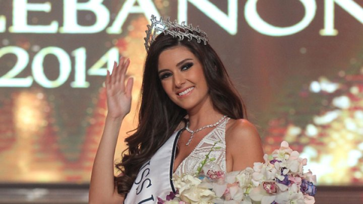 سالى جريج ملكة جمال لبنان