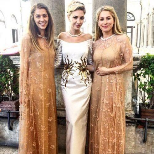 ثوب زفاف سابين غانم شمس ساطعة عالميا