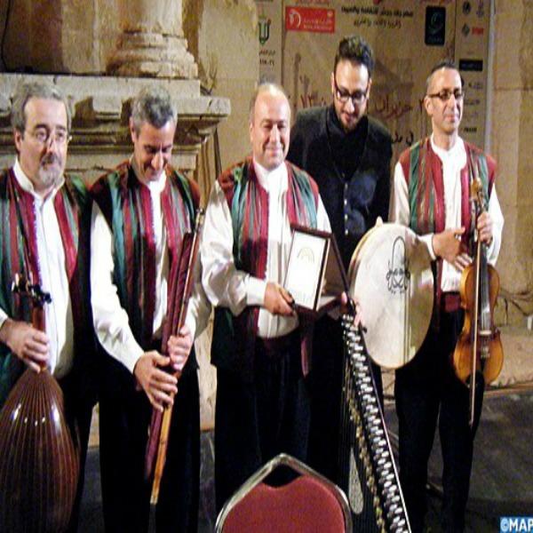 تحى فرقة ابن عربي المغربية السهرات الرمضانية فى مكتبة الاسكندرية و جامعة القاهرة