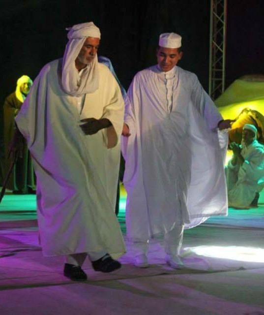 تميز العرض في حفل مهرجان الاغنية السوفية بالوادي الجزائرية أوبيرات