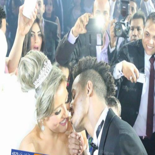 صور وتفاصيل حفل زفاف اوكا ومى كساب أمس بحضور الكثير من نجوم الفن