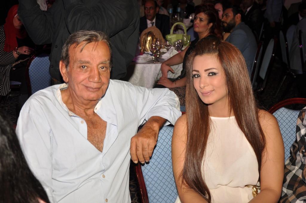 المخرج يوسف شرف الدين وزوجته الفنانة صفاء مغربى
