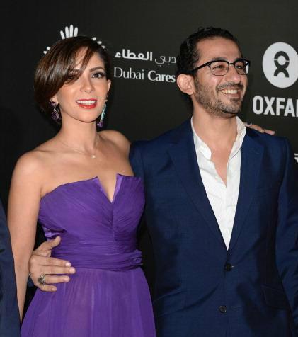 أحمد حلمى ومنى زكى يشاركان حملة دعم حقوق الأطفال