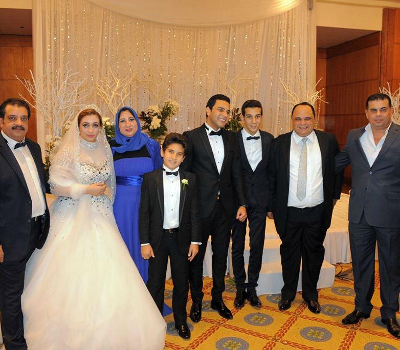 بالصور .... سعد ودينا يحيان حفل زفاف