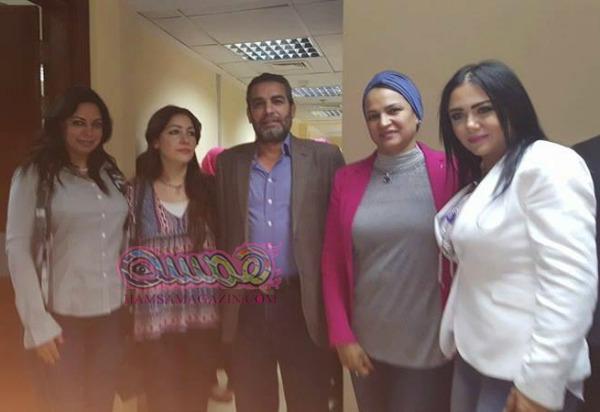 ميسون ابو اسعد سعيدة بعرض فيلمها سوريون