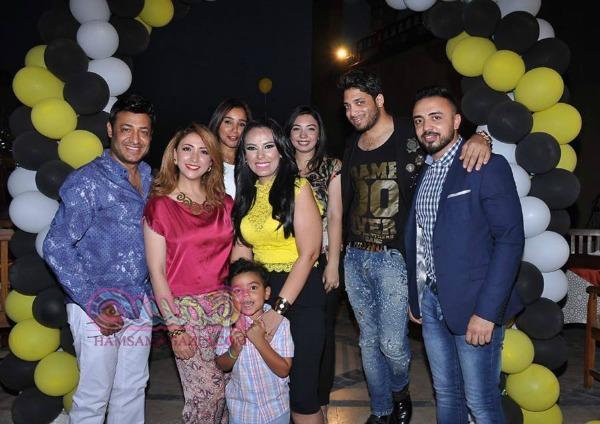 مروة ناجى تحتفل بعيد ميلادها مع جمهورها ومشاركة نجوم الفن