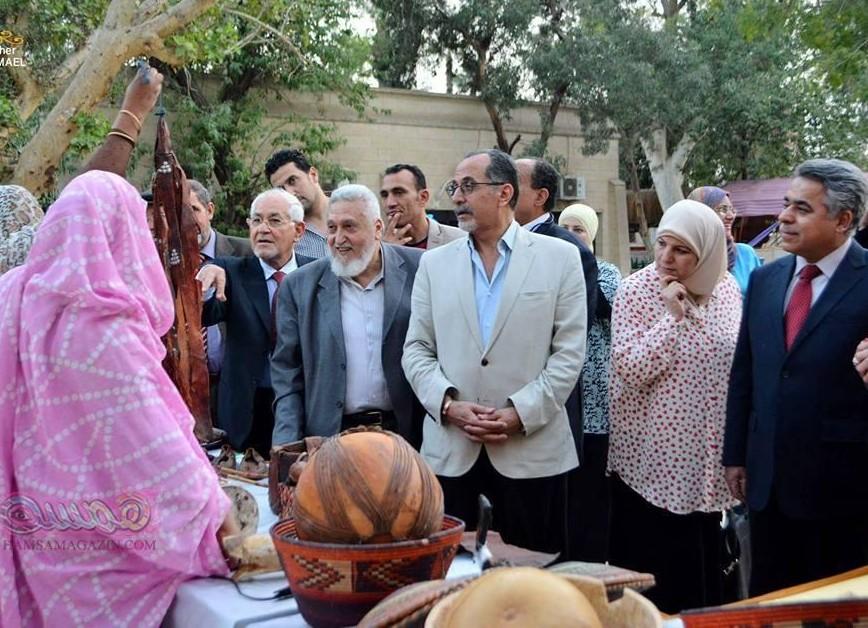 مهرجان الحسينى كرنفال جميل ودروع وتكريمات  بلا روابط