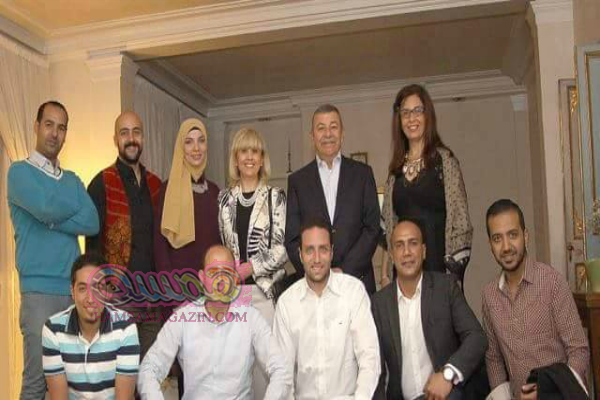 السفير المصري بإيطاليا يلتقى أعضاء جائزة الدولة للإبداع الفني