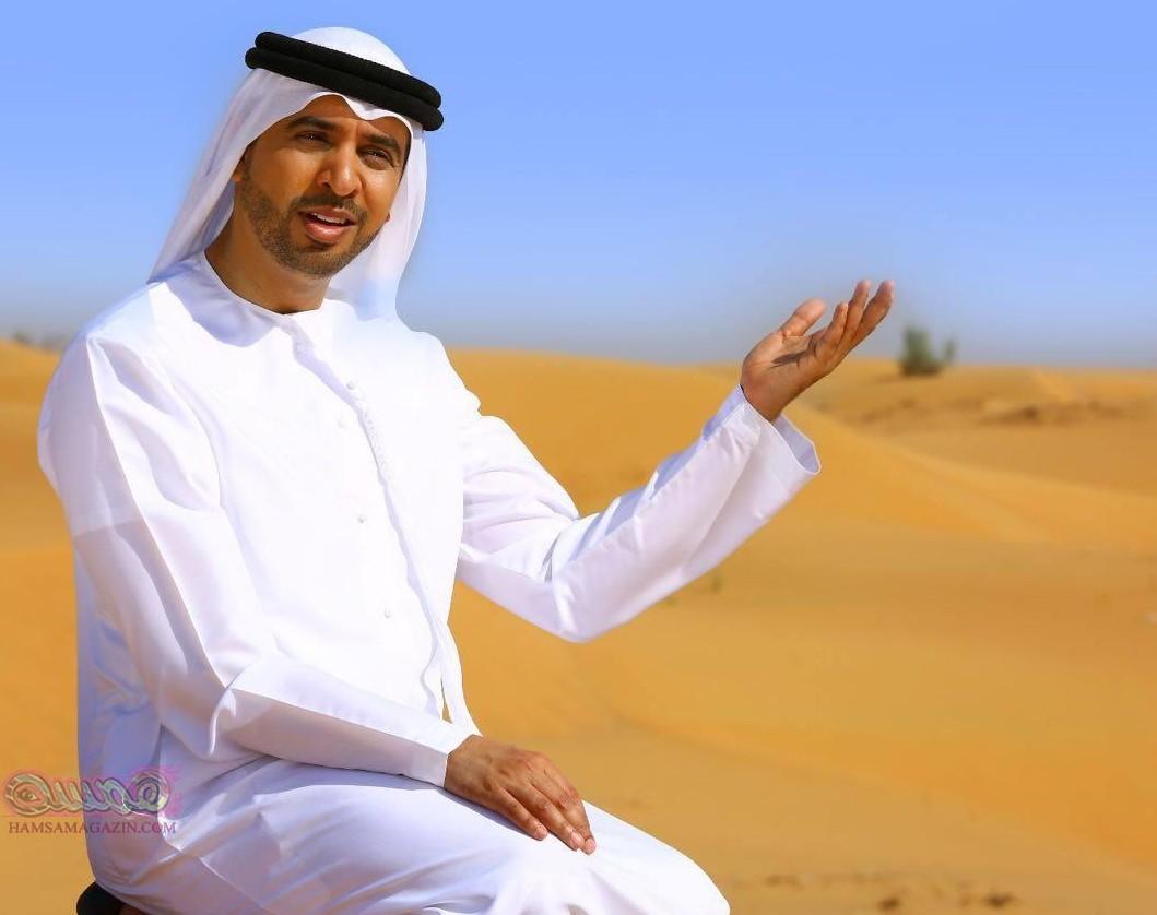 يقدم 10 حفلات خيرية بمدن بريطانية  المنشد الإماراتي أحمد بوخاطر حائر وسط مطار لندن !