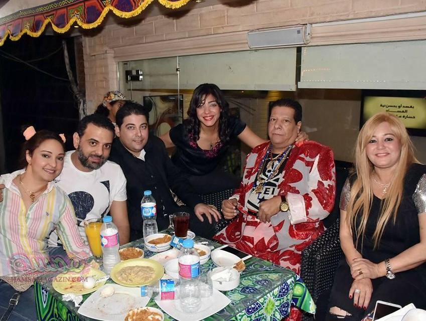 بالصور حفل الافطار السنوي للعائله المصريه مسلمين وأقباط بحضور نجوم الفن