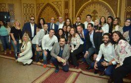 بالصور.. أحمد صيام يحتفل بعقد قران ابنته بحضور نجوم الفن والمجتمع