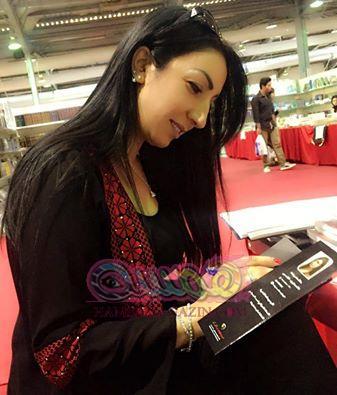 الروائية خالدة غوشة تشارك فلا التظاهرة الثقافية الأردنية