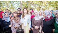 الملكة رانيا العبد الله تحرص على تطوير العملية التعليمية