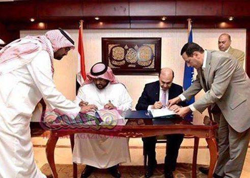 مصر والسعودية يوقعان عقد إنشاء مصنع قناة السويس للحديد والصلب