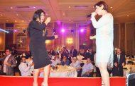 فيفي عبده والكويتية شمس وعدد من الفنانين يكرمون بحفل  المنتدى العربى العالمى للثقافة والسلام