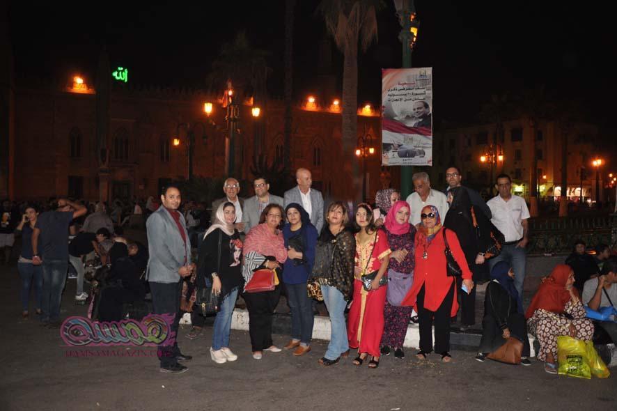 توفيق توفيق يلهب حماس الحاضرين فى مهرجان همسة