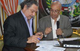 شعر وغناء وتوقيع عقد ديوان فى ندوة الشاعر على مدكور بالإسكندرية