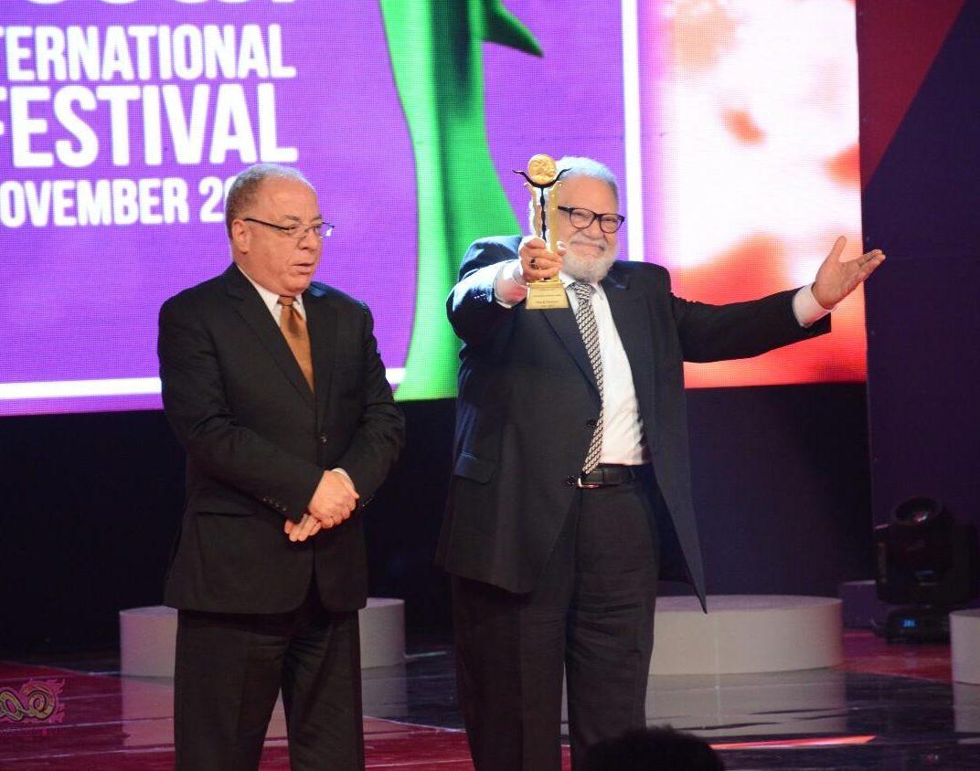 تكريم النجم يحيى الفخرانى فى ختام مهرجان القاهرة السينمائى