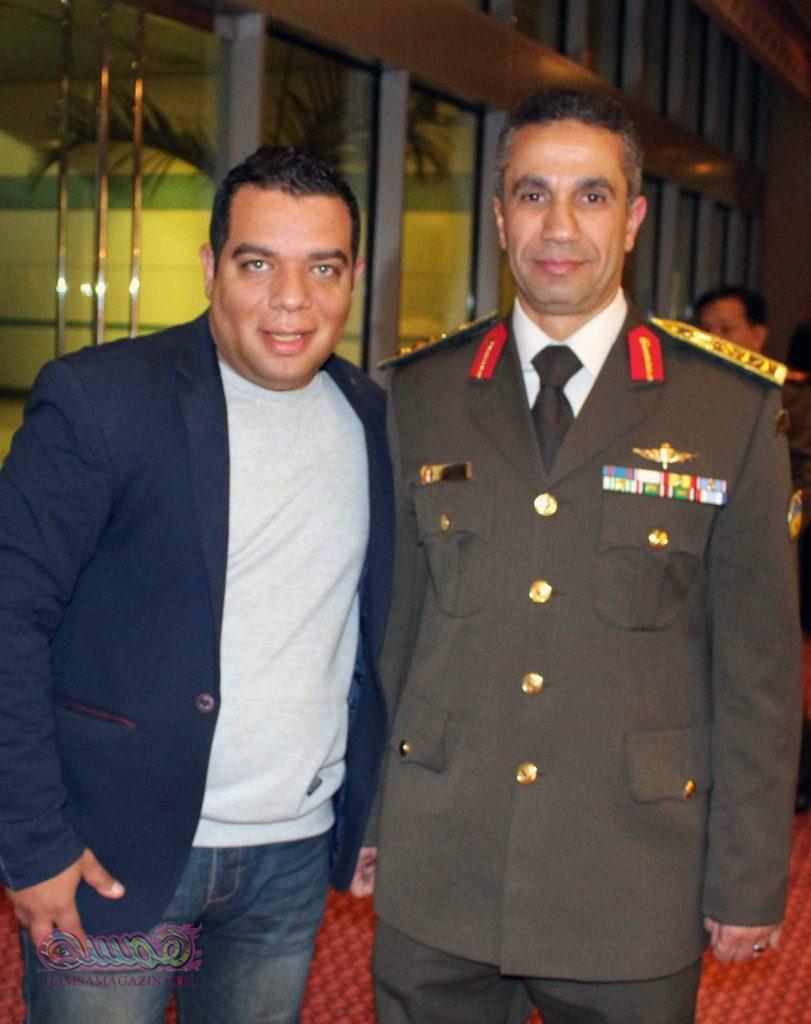 العميد محمد سمير والمقدم علاء يونس