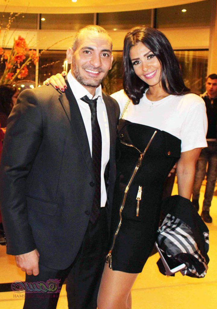 التونسية ساندى وخطيبها