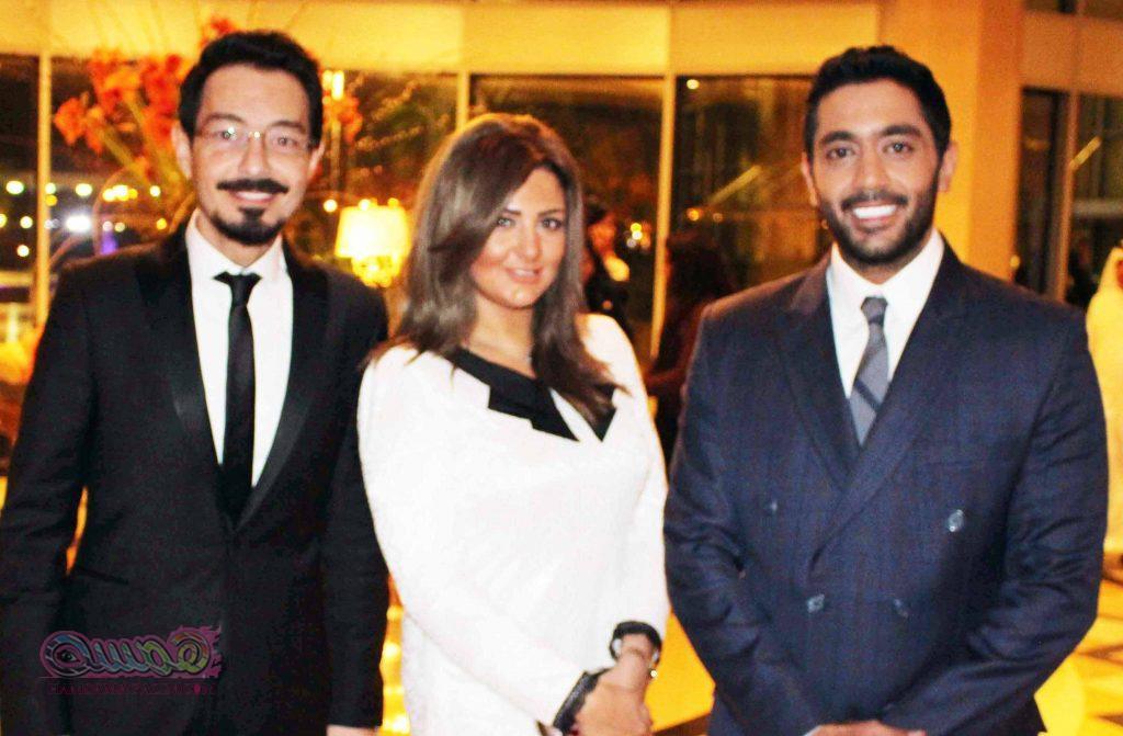 أحمد فوكس وأحمد زاهر وشذى