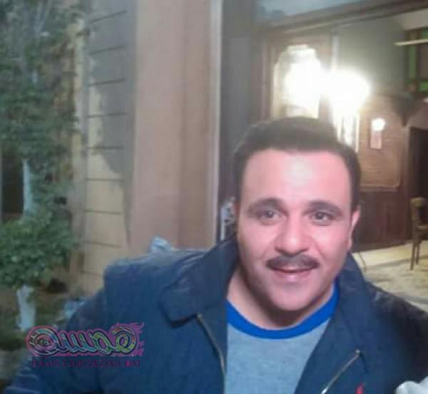 محمد فؤاد يواصل تصوير «الضاهر» داخل مدينة الإنتاج الإعلامى