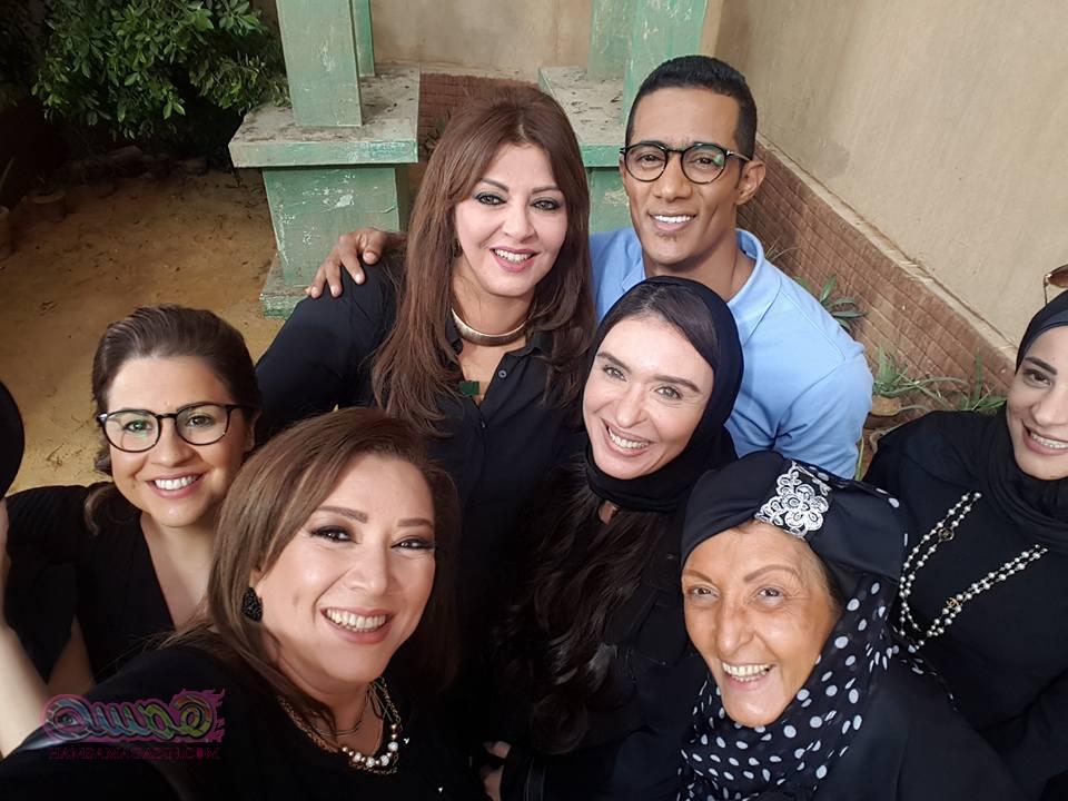 إنتصار خالة محمد رمضان فى آخر ديك فى مصر مجلة همسة