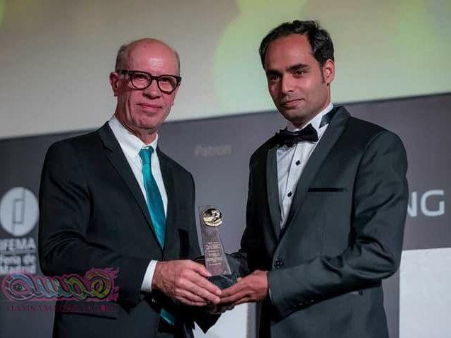 مصرى يفوز بجائزة الامم المتحدة بمنظمة السياحة العالمية