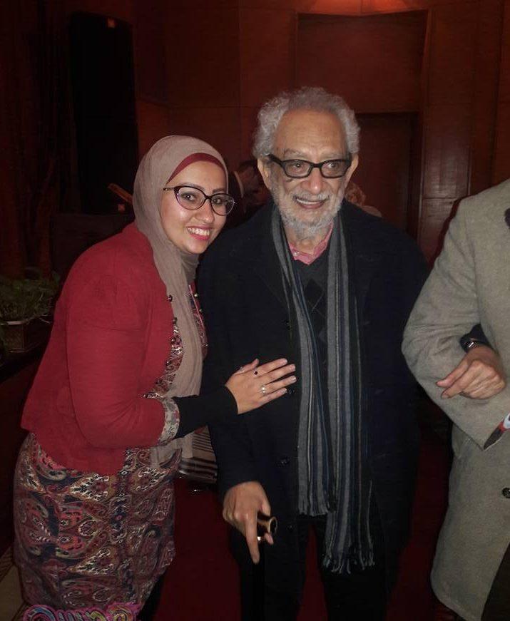رائد فن العرائس د/ناجى شاكر بصالون الأوبرا الثقافى