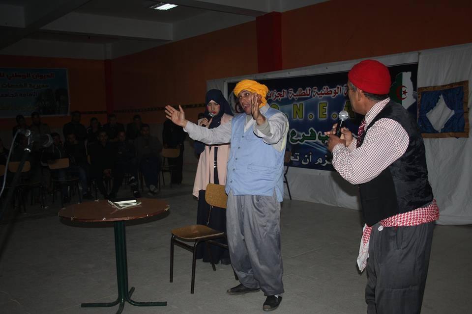شموع النعامة تنشط حفلات فنية متنوعة بإقامات جامعتي النعامة و البيض