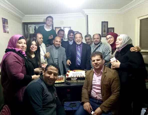 أسرة مهرجان همسة تحتفل بموقع المهرجان الجديد