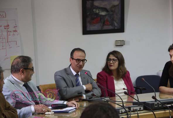 الدكتور جابر عصفوروزير الثقافة الأسبق أول ضيوف الملهم (مؤتمر صحفى)