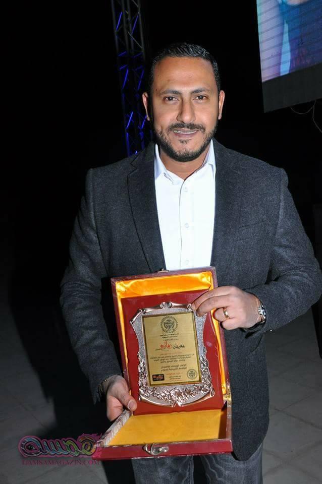 تكريم هاني محروس بـ مهرجان روائع للإبداع الدولي