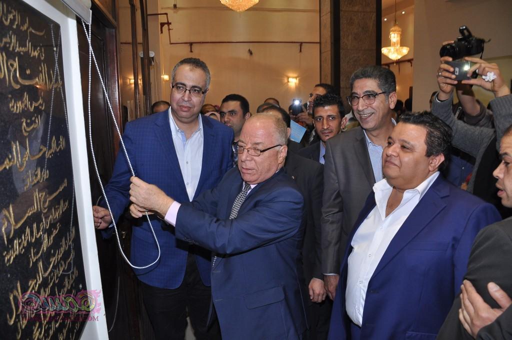 وزير الثقافه وخالد جلال يفتتحان مسرح السلام بعرض قواعد العشق 40