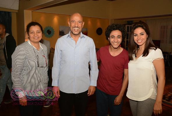 """أشرف عبد الباقي يستكمل تصوير مسلسله الجديد بحضور """"عائلة زيزو"""""""