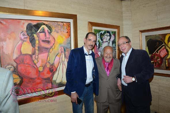 """حفل توقيع كتاب عن الفنان القدير """"جورج البهجوري"""" وافتتاح معرض فني لأعماله"""
