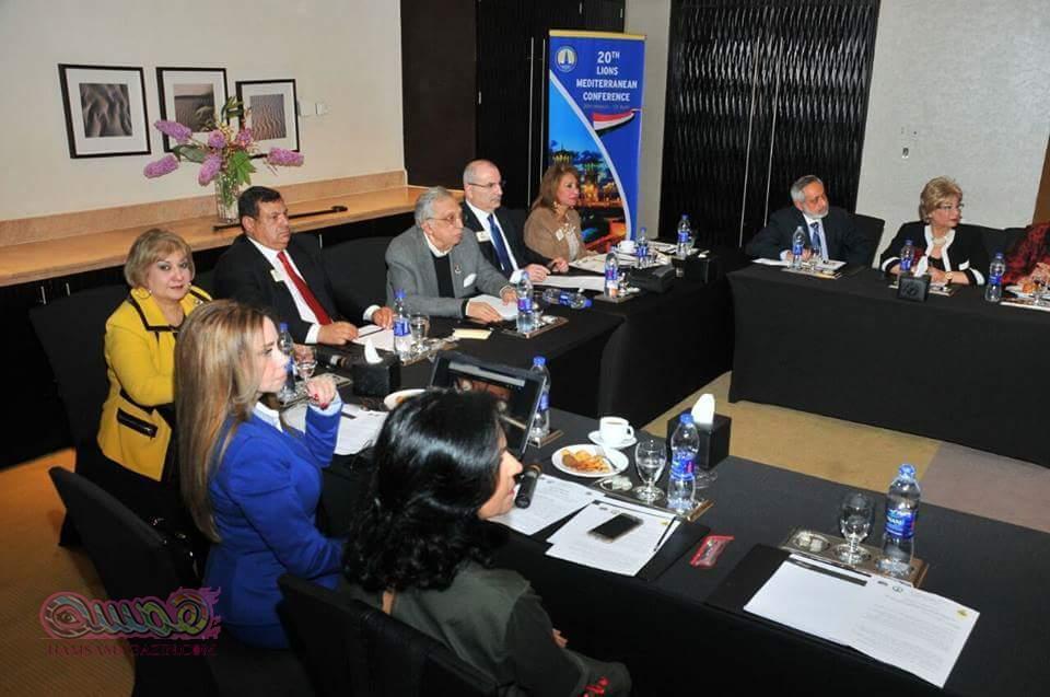 مؤتمر ليونز البحر المتوسط تحت رعاية رئيس الوزراء و هيئة تنشيط السياحة ووزارة الثقافة