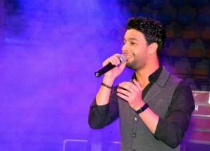 بالصور احمد جمال يتألق فى حفل نادى مدينة نصر