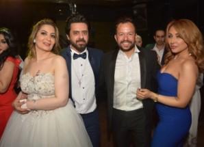 بالصور زفاف الفنان محمد عاطف ولبنى الحسينى