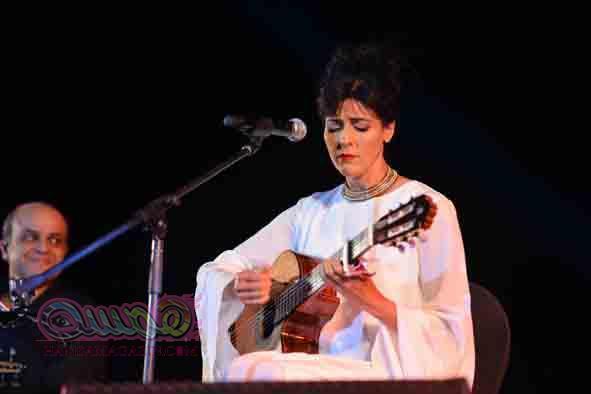 بالصور حفل الجزائرية سعاد ماسي بفندق بيراميدزا هلز