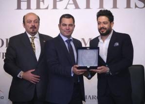 محمد حماقى سفيرا للسياحة العلاجية وبرنامج عالم خال من فيروس سى
