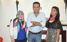 بالصور..احتفال أسامة منير و راديو محطة مصر بإطلاق الخريطة البرامجية الجديدة